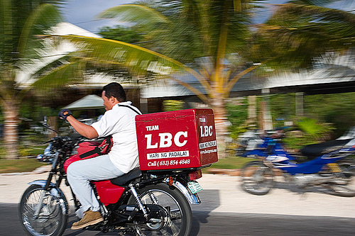 largest philippine courier company, LBC tv spot – how to
