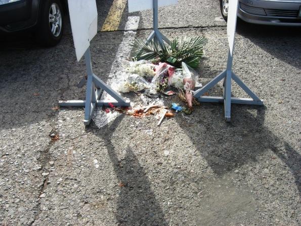 spot where amiel was killed