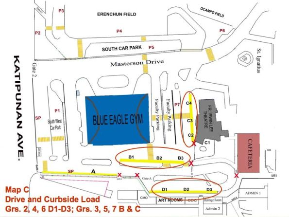 DRIVE AND CURBSIDE LOADING GR2-7