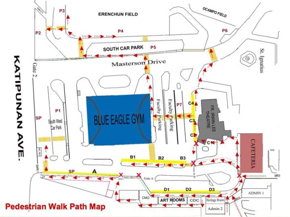 FOR ALL PEDESTRIAN WALKPATH