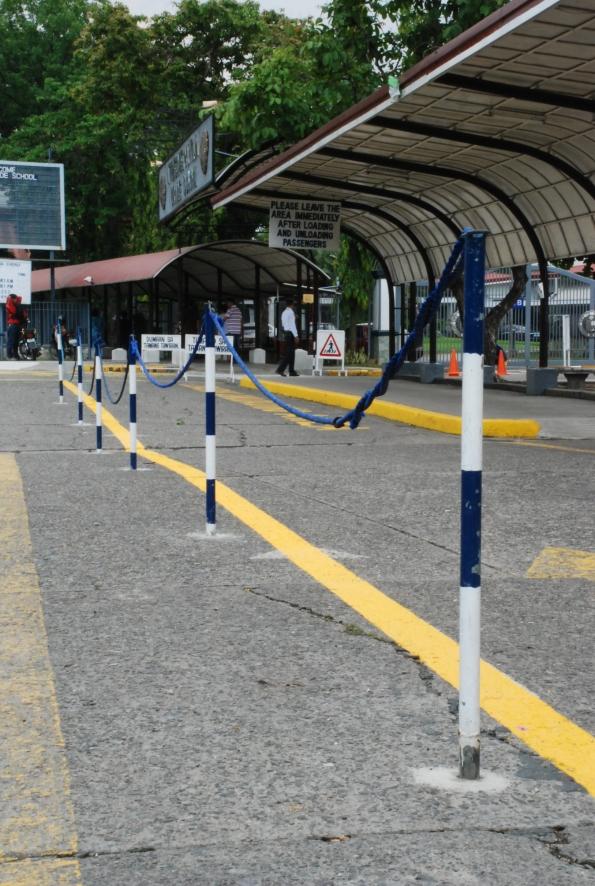 main parking area where amiel died