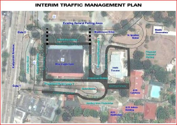 proposed traffic scheme developed architects