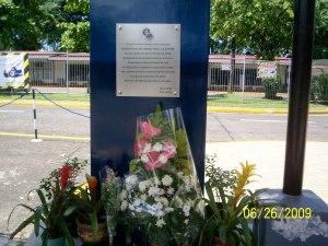 amiel alcantara's marker at AGS parking lot 1