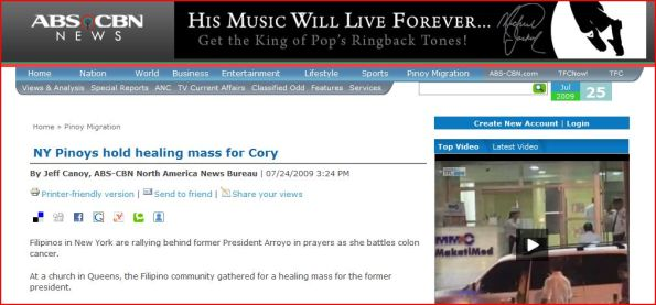 abs-cbnnews.com's typo error on cory article