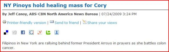 close-up of typo error in abs-cbnnews.com's article on cory mass