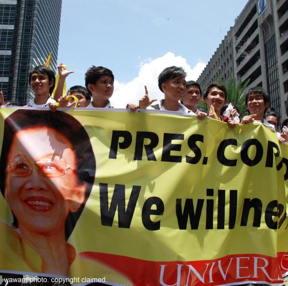 august 3 2009 cory aquino ayala ave