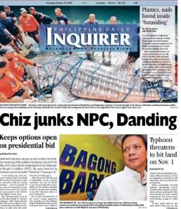 chiz escudero's presidential bid dead in the water