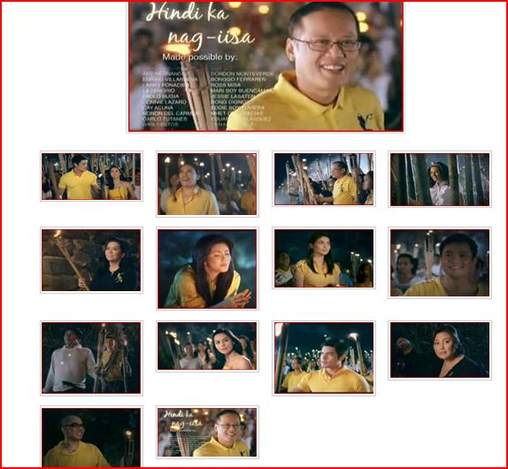 noynoy aquino di ka nag-iisa tv ad