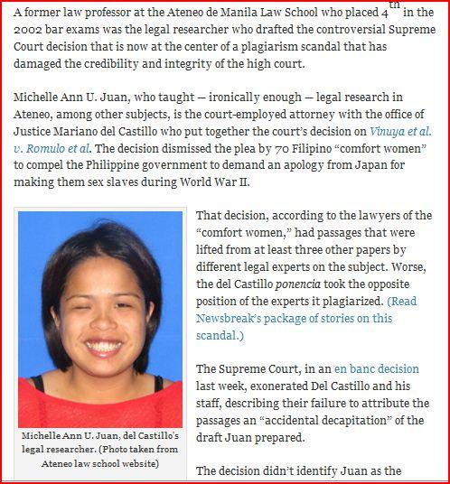 philippine SC plagiarism